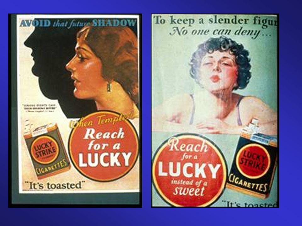 Voici l'une des premières campagnes destinées aux femmes américaines