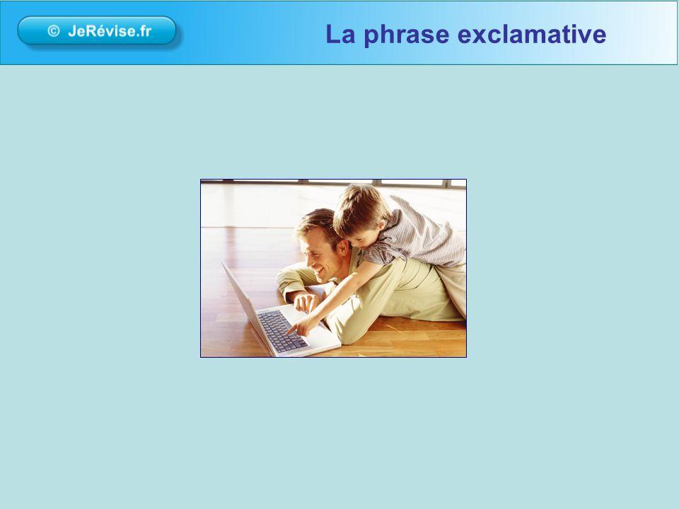 La phrase exclamative bonour bienvenue sur la plateforme de soutien scolaire Jerevise.fr.