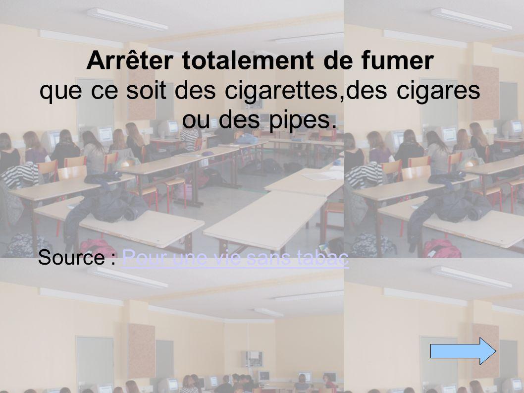 Source : Pour une vie sans tabac