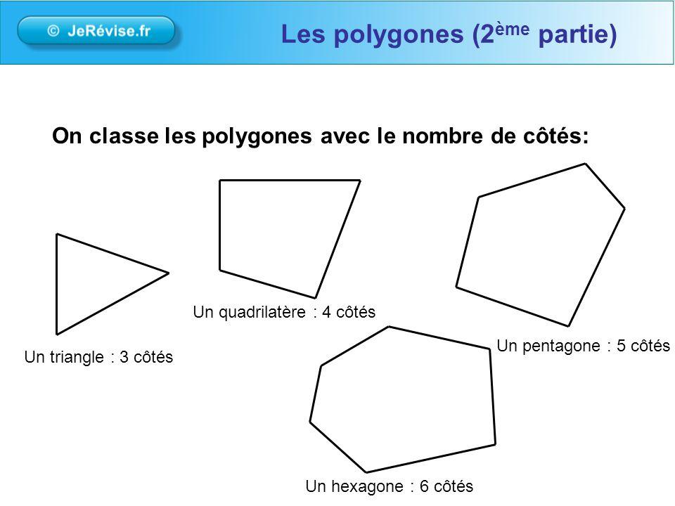 Les polygones (2ème partie)