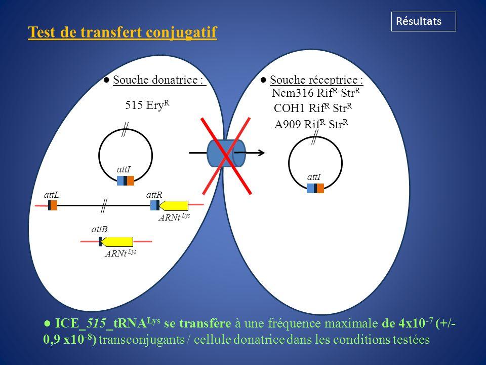 Test de transfert conjugatif
