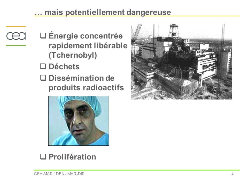 … mais potentiellement dangereuse