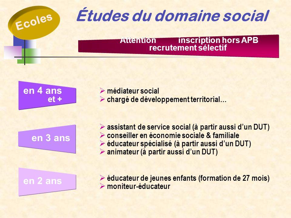 Études du domaine social