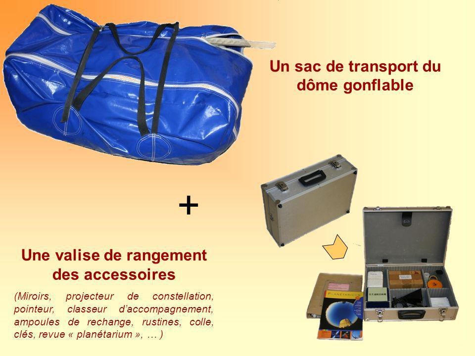 + Un sac de transport du dôme gonflable