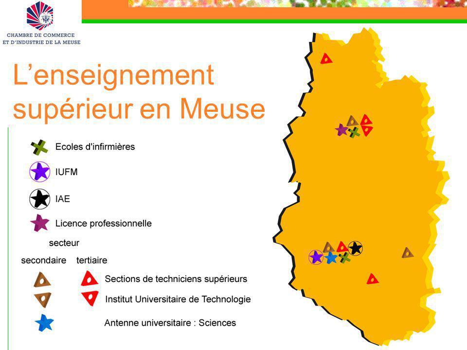 L'enseignement supérieur en Meuse