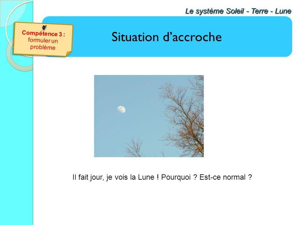 Il fait jour, je vois la Lune ! Pourquoi Est-ce normal