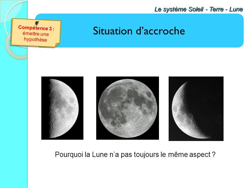 Pourquoi la Lune n'a pas toujours le même aspect