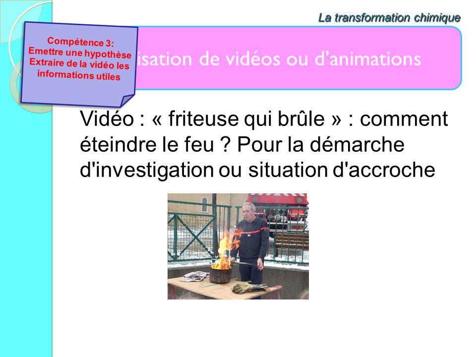 Extraire de la vidéo les informations utiles