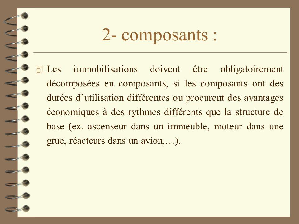 2- composants :