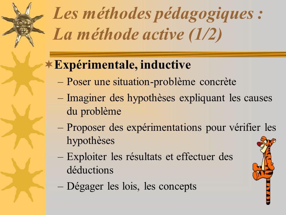 Les méthodes pédagogiques : La méthode active (1/2)