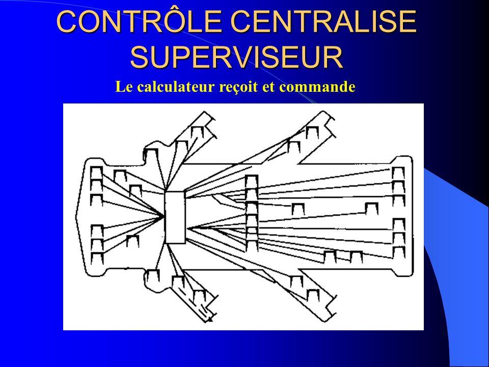 CONTRÔLE CENTRALISE SUPERVISEUR