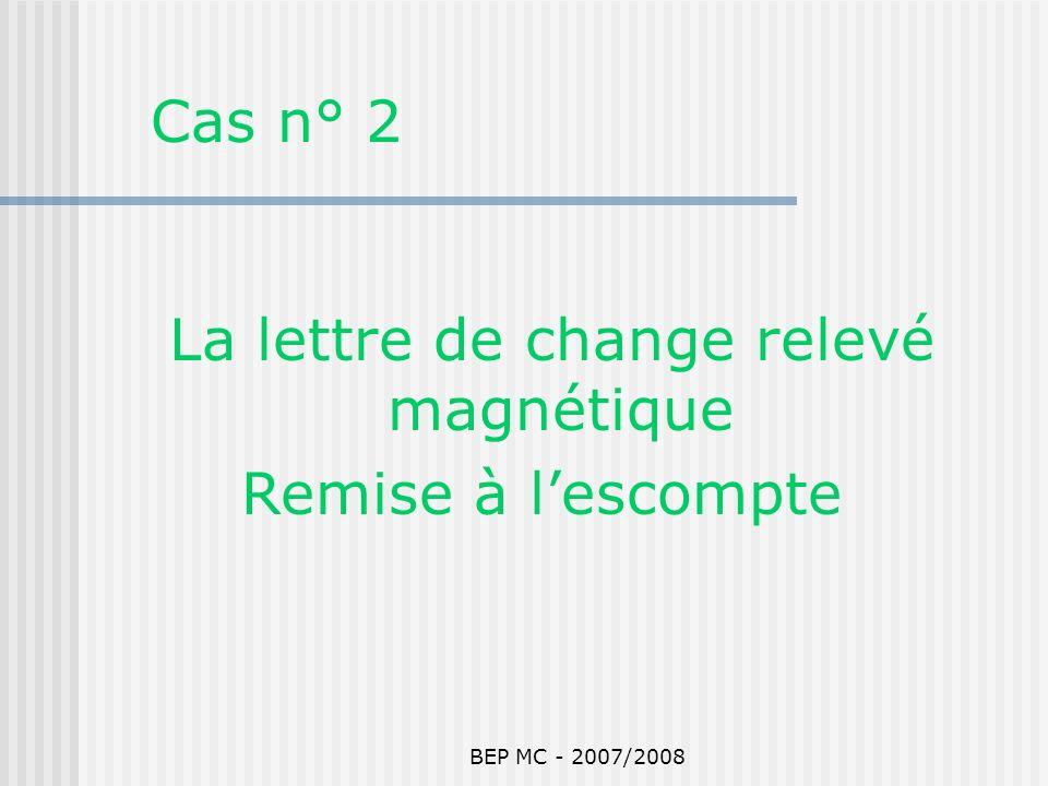 La lettre de change relevé magnétique