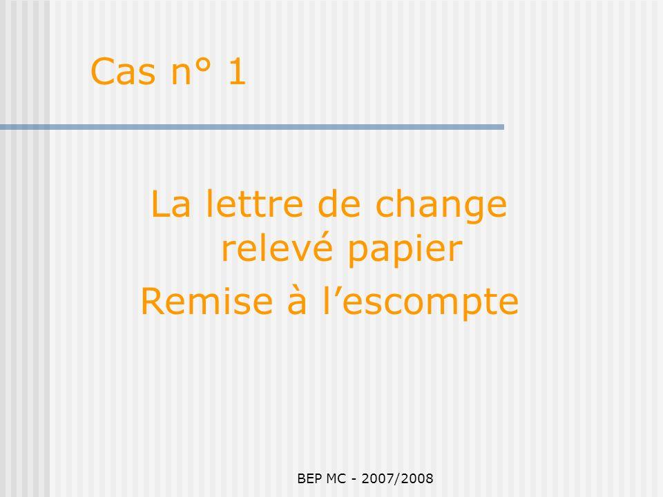 La lettre de change relevé papier