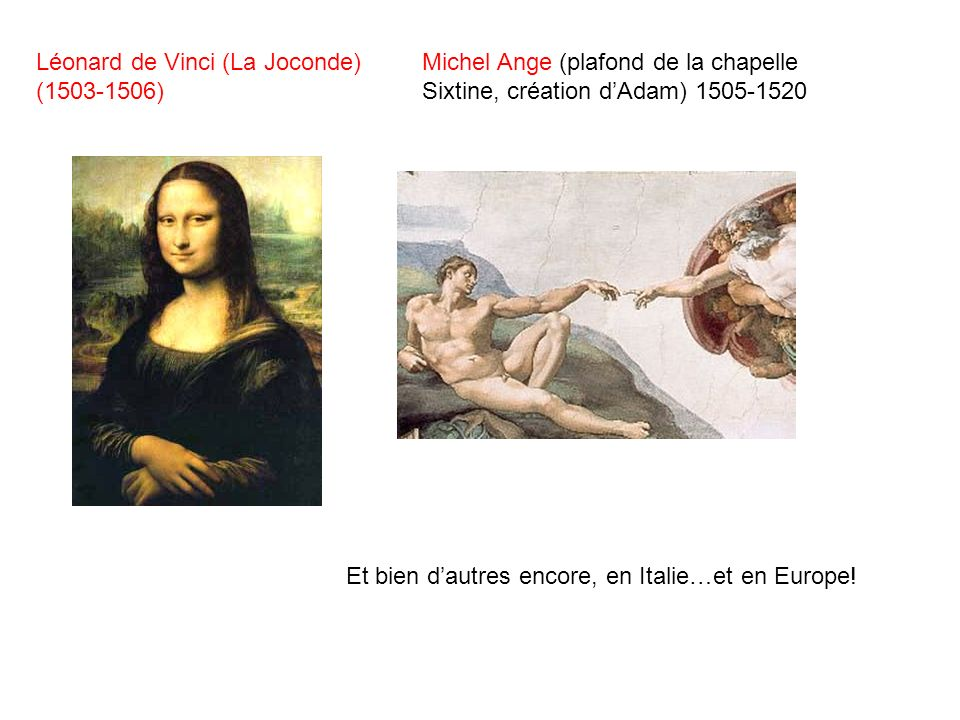 Léonard de Vinci (La Joconde) (1503-1506)