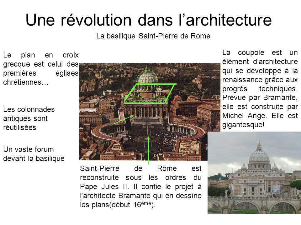 Une révolution dans l'architecture