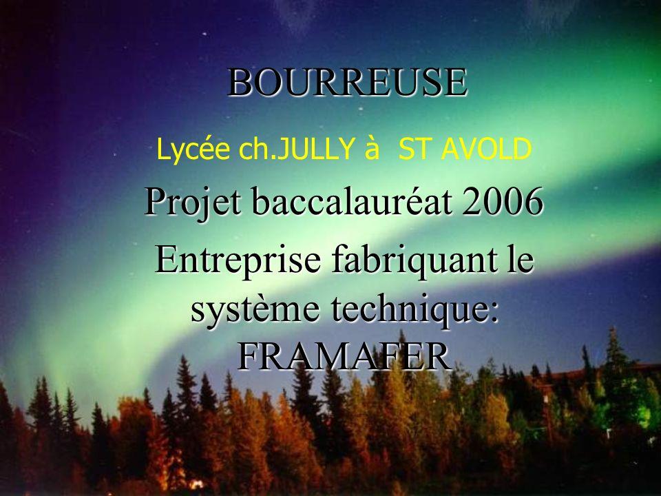 Entreprise fabriquant le système technique: FRAMAFER