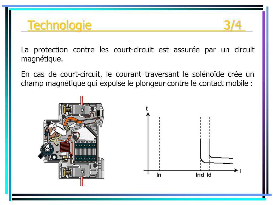 _Technologie 3/4 _ La protection contre les court-circuit est assurée par un circuit magnétique.