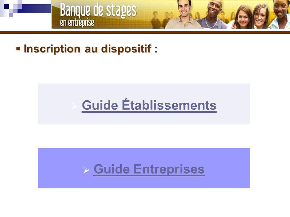 Guide Établissements Guide Entreprises