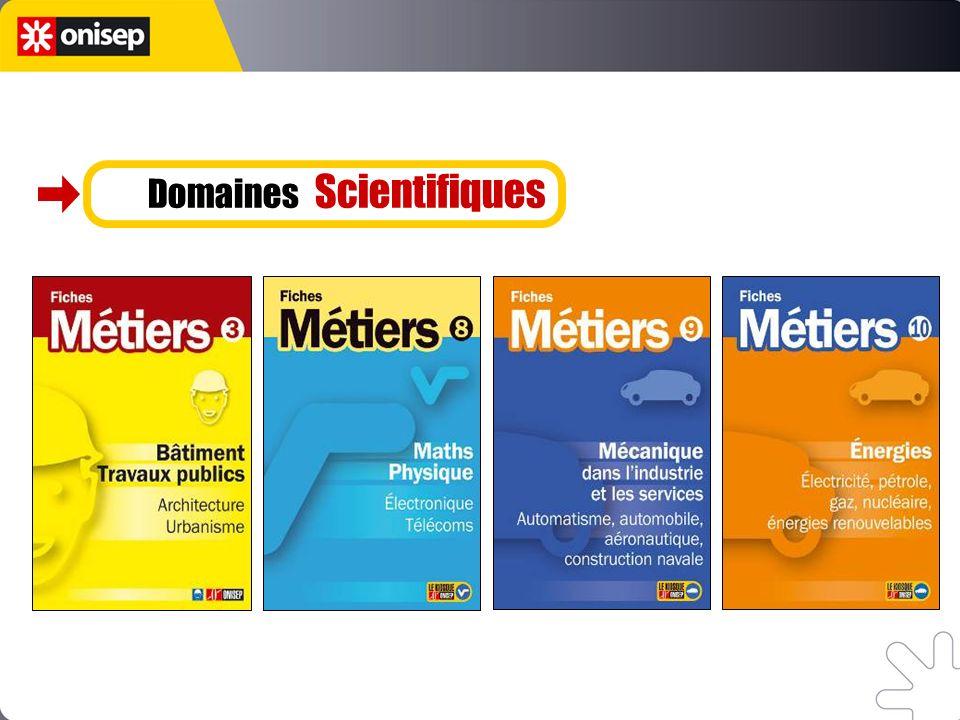 Domaines Scientifiques