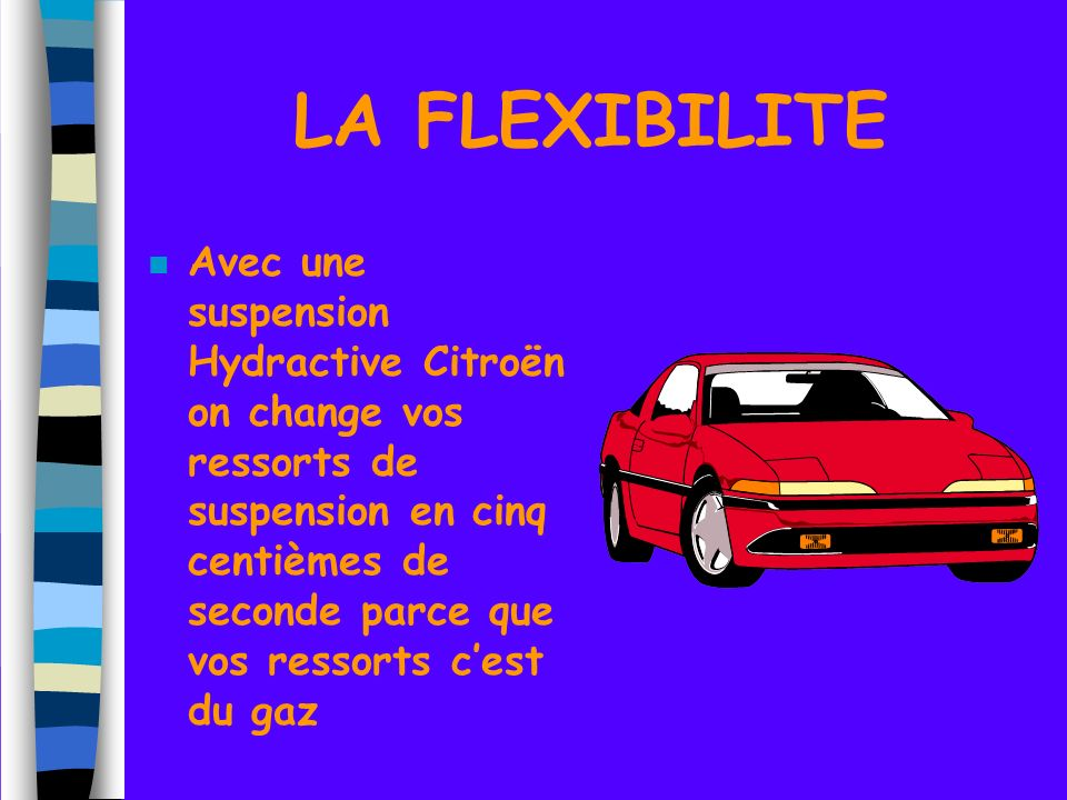 LA FLEXIBILITE