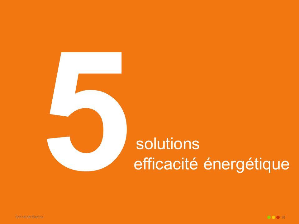 5 solutions efficacité énergétique
