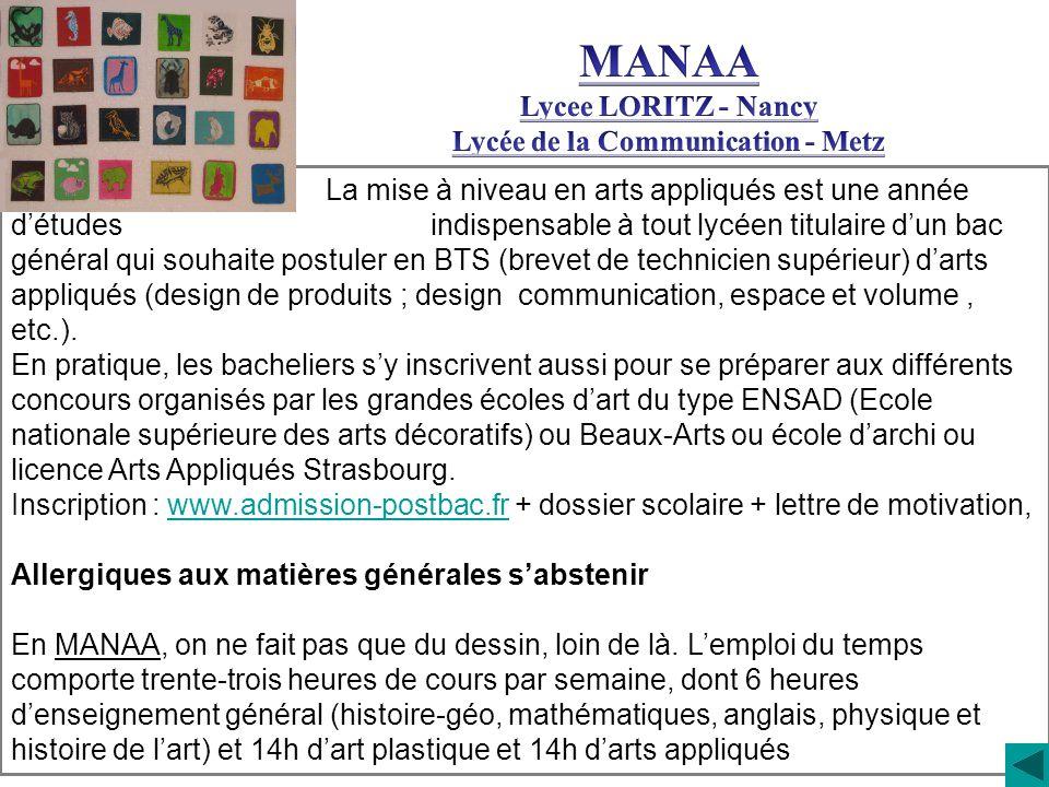 Lycée de la Communication - Metz