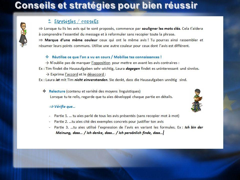 Conseils et stratégies pour bien réussir