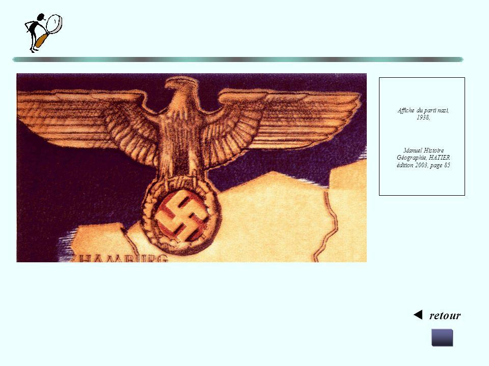 Manuel Histoire Géographie, HATIER édition 2003, page 85
