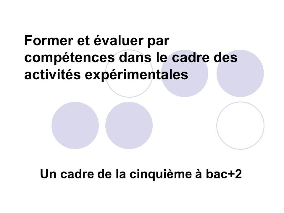 Un cadre de la cinquième à bac+2