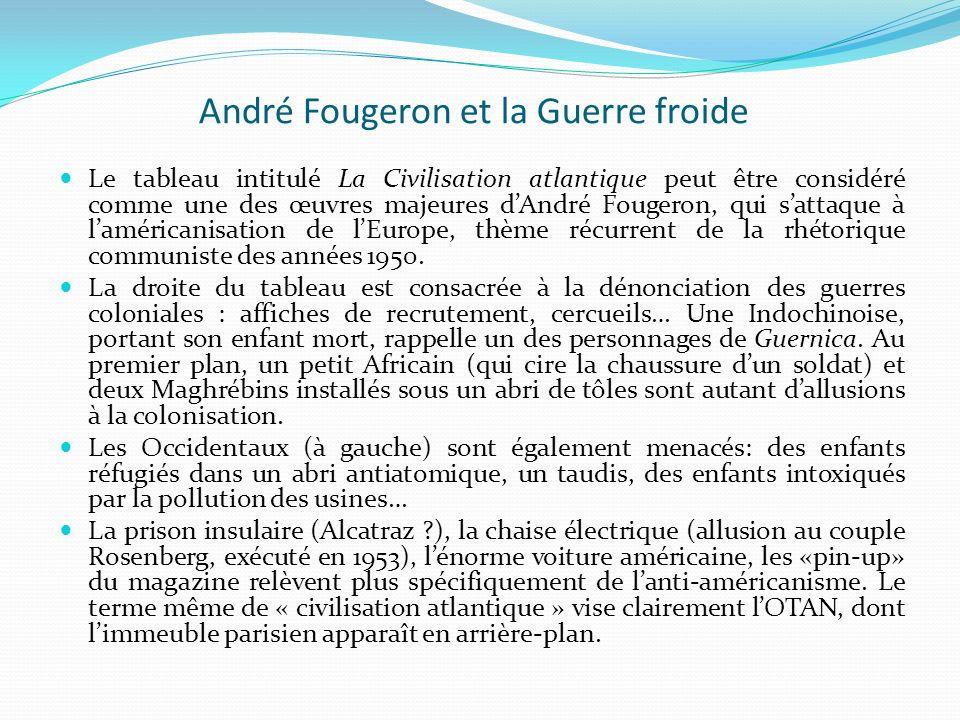 André Fougeron et la Guerre froide