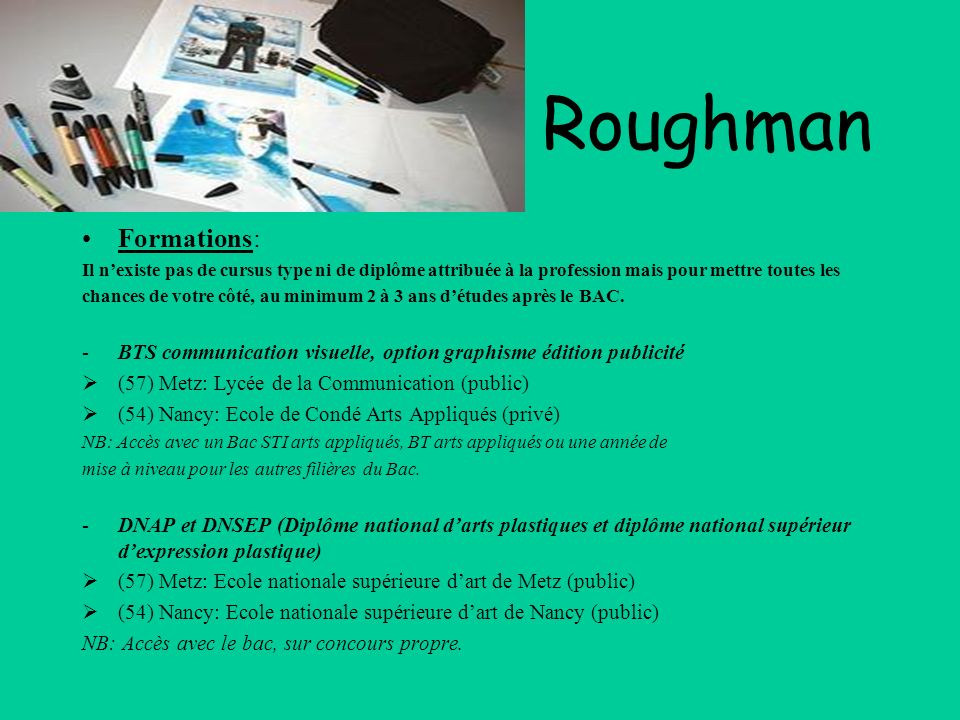 Les m tiers de la publicit ppt video online t l charger - Ecole national superieur des arts decoratifs ...