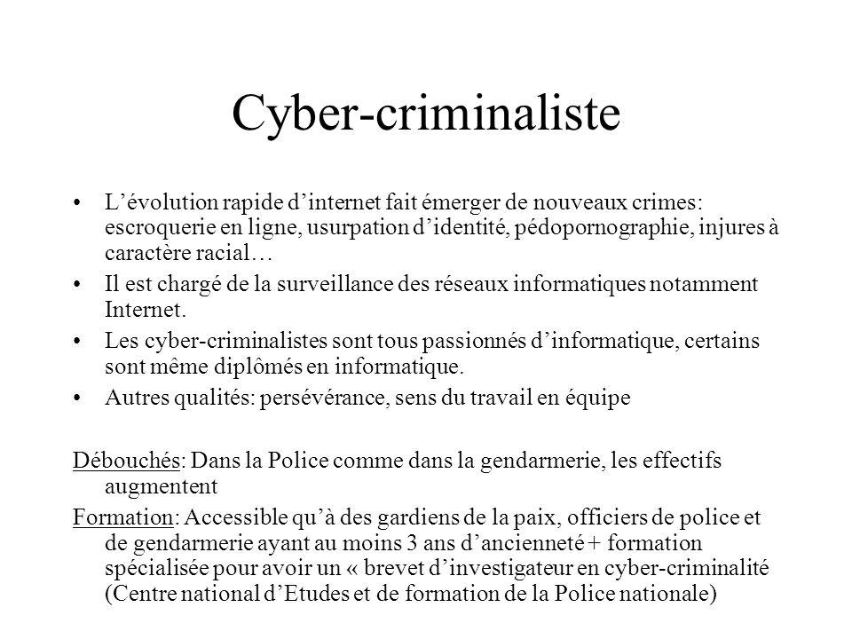 Cyber-criminaliste