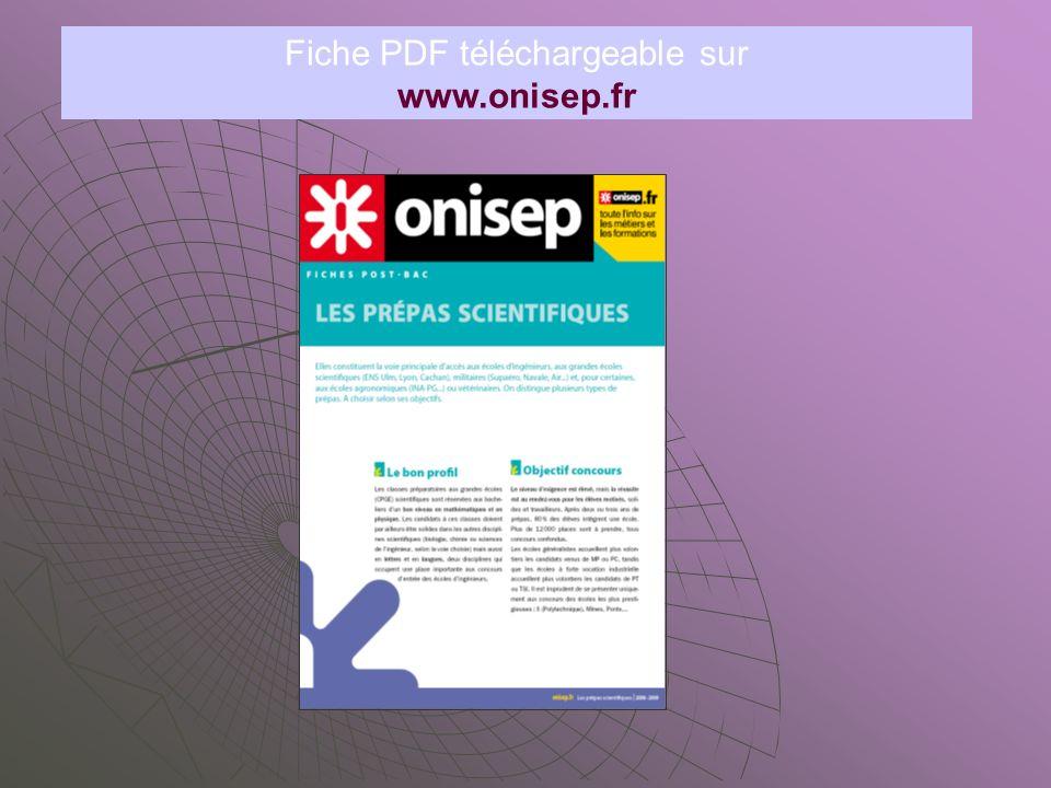 Fiche PDF téléchargeable sur
