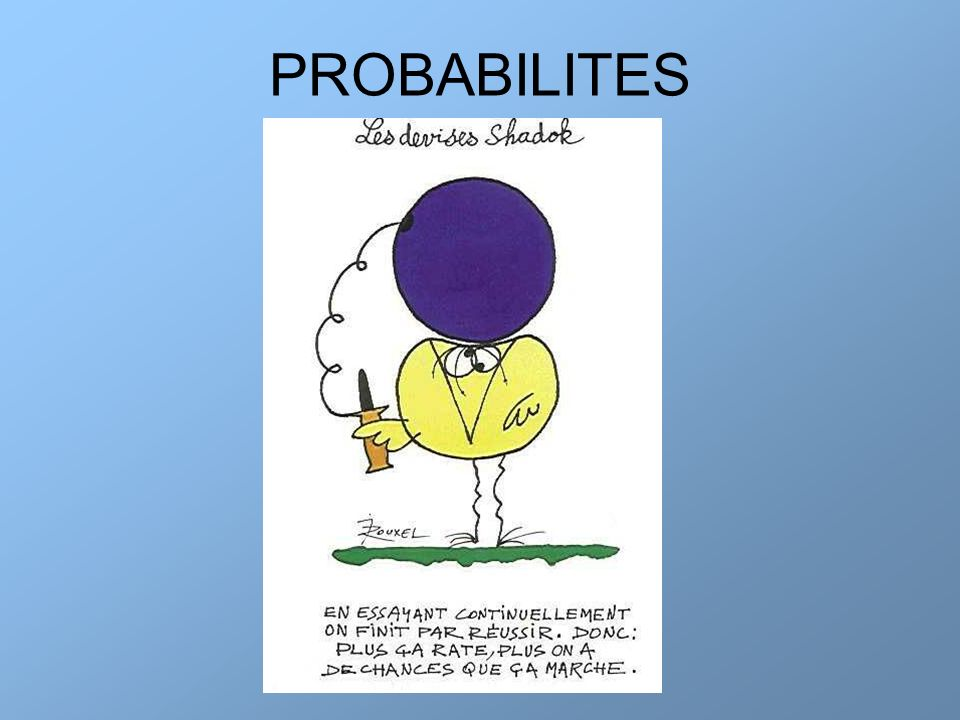 PROBABILITES