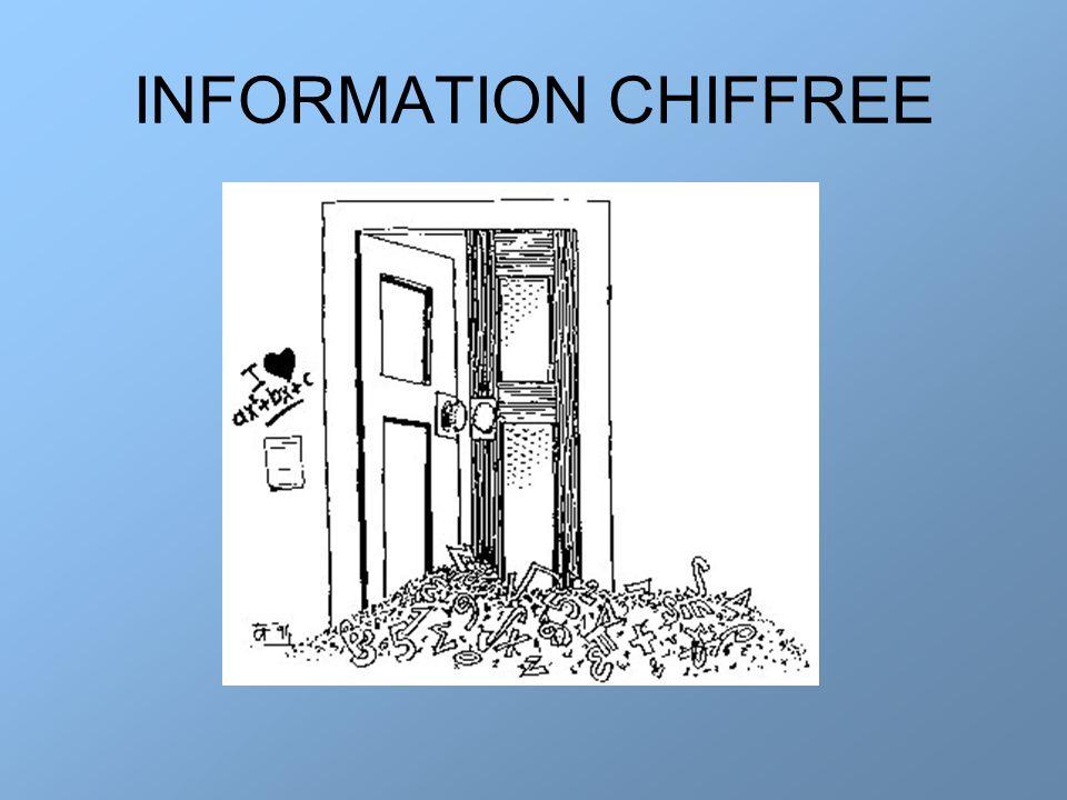 INFORMATION CHIFFREE