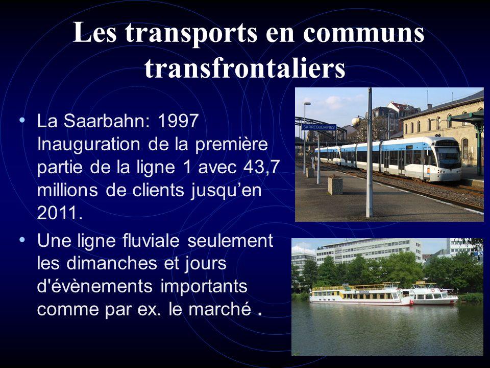 Les transports en communs transfrontaliers