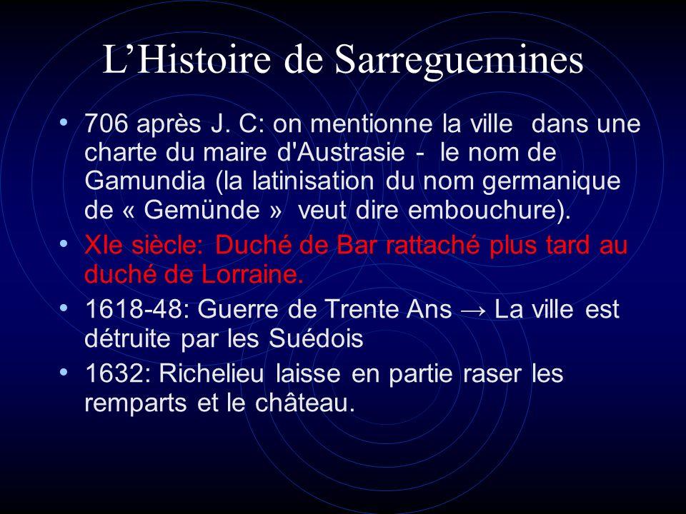 L'Histoire de Sarreguemines
