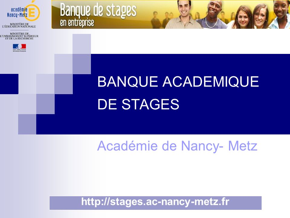 BANQUE ACADEMIQUE DE STAGES