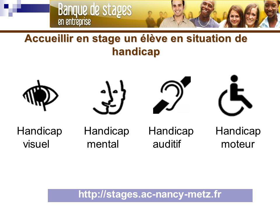 Handicap Handicap Handicap Handicap visuel mental auditif moteur
