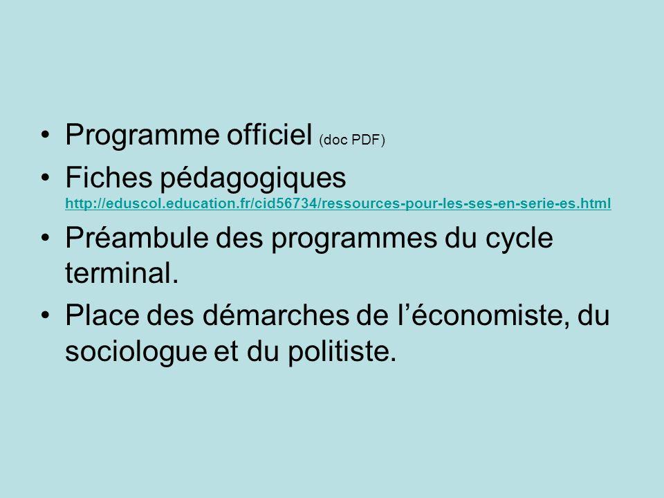 Programme officiel (doc PDF)