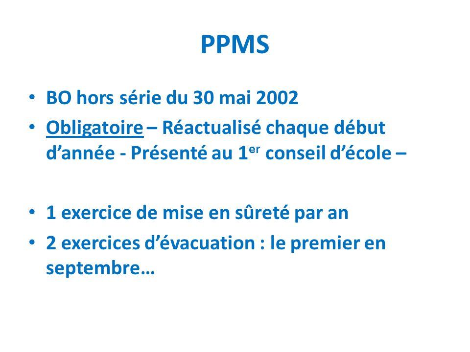 PPMS BO hors série du 30 mai 2002