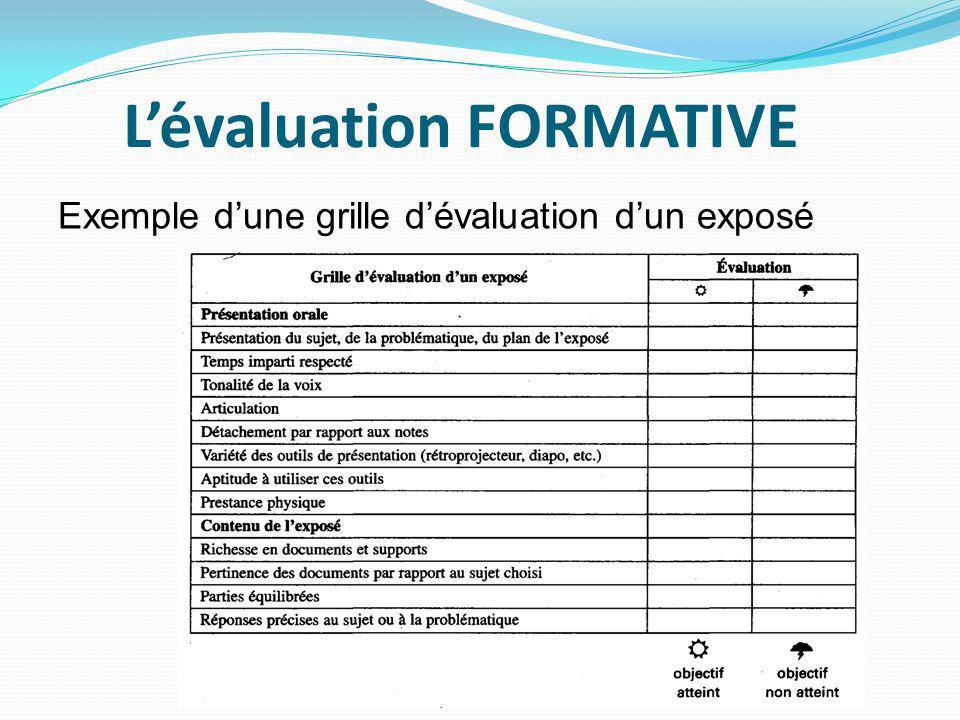 L valuation pierre angulaire de l enseignement ppt video online t l charger - Grille d auto evaluation ...