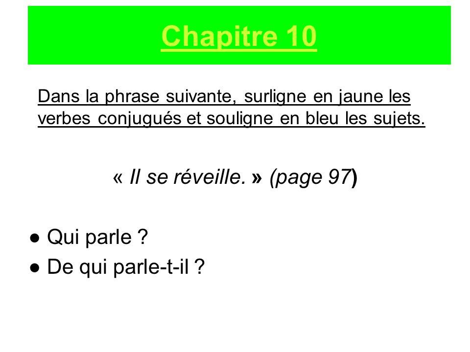 « Il se réveille. » (page 97)