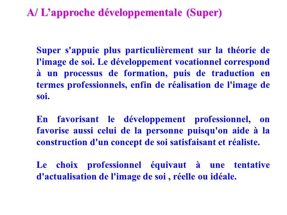 A/ L'approche développementale (Super)