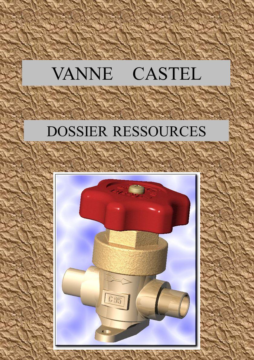 VANNE CASTEL DOSSIER RESSOURCES