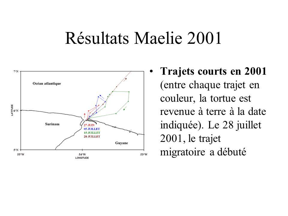 Résultats Maelie 2001