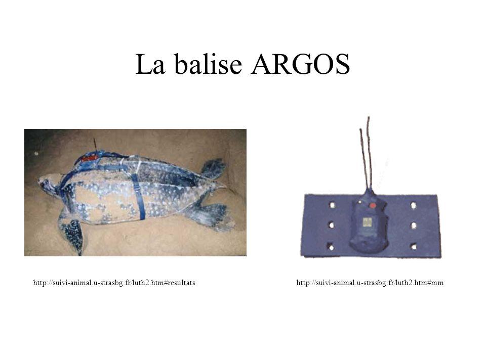 La balise ARGOS http://suivi-animal.u-strasbg.fr/luth2.htm#resultats