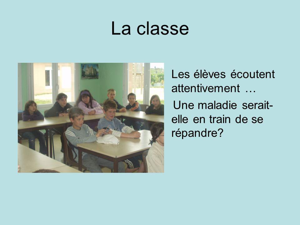 La classe Les élèves écoutent attentivement …