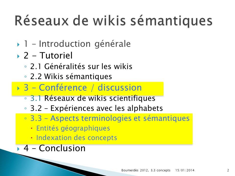 Réseaux de wikis sémantiques