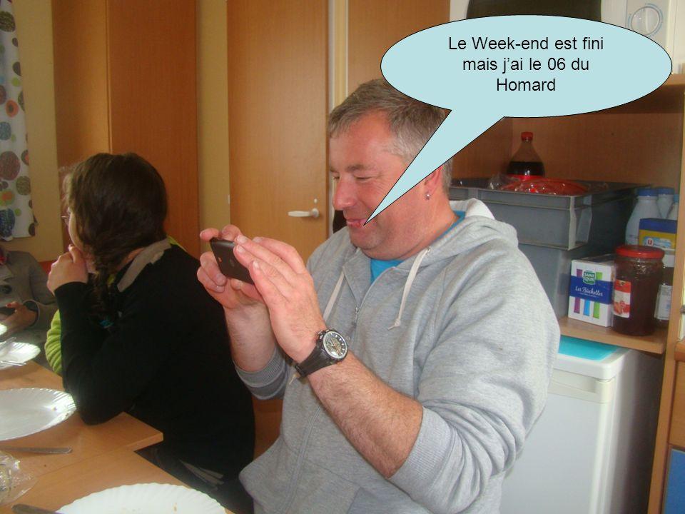 Le Week-end est fini mais j'ai le 06 du Homard